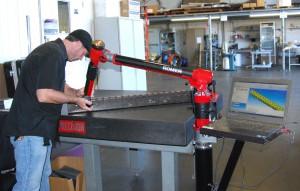 Inspection CMM Romer quality control phoenix arizona kzell metals