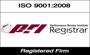ISO 9001:2008 registered metal fabrication company