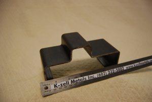 Press brake steel bent bracket